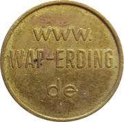 Car Wash Token - Wap Erding – reverse