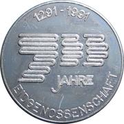 Token - 700 Year anniversary Eidgenossenschaft – obverse