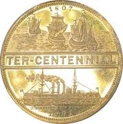 So-Called Dollar - Jamestown Tercentennial Exposition – reverse