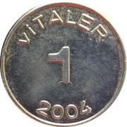 1 Vitaler – reverse