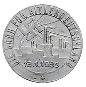 Token - NSDAP (Volk will zu Volk) – reverse