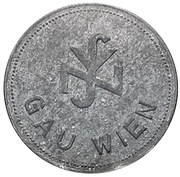 Token - NSV (Gau Wien) – obverse