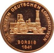 Token - 150 years of German Railroads (Borsig 1841) – obverse