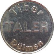 Tiber Taler - Dr. Graute's Apotheken (Dülmen) – obverse