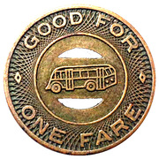 1 Fare - C M & M Transit Co (Beardstown, Illinois) – reverse