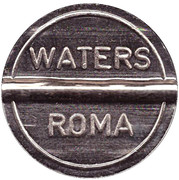 Car Wash Token - Waters Roma – obverse