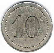 10 Centimes - Restaurant Marc (Epinal) – reverse