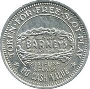 Token - Barney's / Nugget (Nevada) – obverse