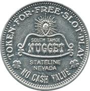Token - Barney's / Nugget (Nevada) – reverse