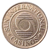 50 Cents - Sun International Casinos – obverse
