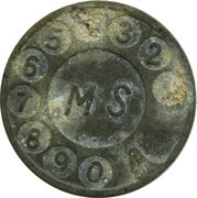 Telephone Token - Telefon MS – obverse