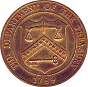 Token - The Department Of The Treasury (San Francisco) – obverse