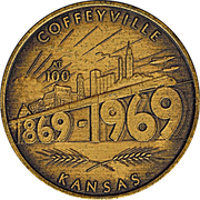 1 Dollar - Coffeyville, Kansas – obverse