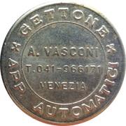 Jukebox Token - Gettone Apparecchi Automatici (Vasconi, Venezia) – obverse
