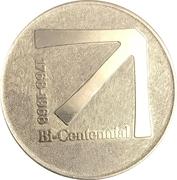 Token - Bicentennial Charlotte, North Carolina -  reverse