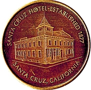 Token - Santa Cruz Coin Club – reverse
