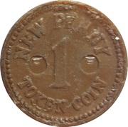 1 New Penny – reverse