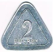 2 Centimes - Quercy (Montpellier) – obverse