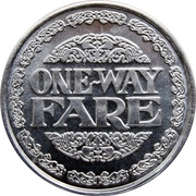 1 Way Fare - St. Armand's Circle Trolley (Sarasota, Florida) – reverse