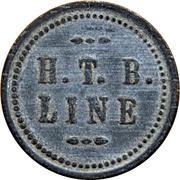 15 Cents - H. T. B. Line (Beaver Falls, Pennsylvania) – obverse