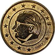 Token - Albert II (Euro 1999-2002 Specimen) – obverse