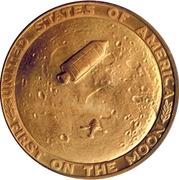 Token - Apollo 11 (First On The Moon) – reverse