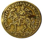 Token - Louis XIII (Omnis victoria adno) – obverse