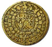 Token - Louis XIII (Omnis victoria adno) – reverse