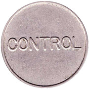 Telephone Token - Telefoane Control (27 mm; small letters) – reverse