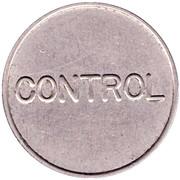 Telephone Token - Telefoane Control (27 mm) – reverse
