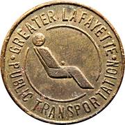 1 Fare - Greater Lafayette Public Transportation – obverse