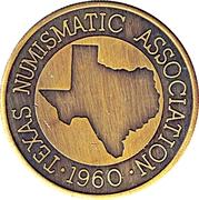 Token - Texas Numismatic Association (16th Convention) – reverse