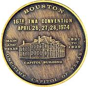 Token - Texas Numismatic Association (16th Convention) – obverse