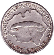 Telephone Token - Romanian Anonymous Society for Telephones – obverse