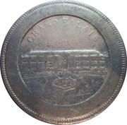 Souvenir de L'Exposition d'Electricité Marseille 1908 (Grand Palais) – reverse