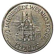750 Jahre Stadt Wernigerode – obverse
