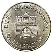 750 Jahre Stadt Wernigerode – reverse