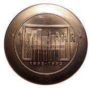 1 Dommetje - Jubileumactie 1992 (Gemeente-Bibliotheek Utrecht) – obverse