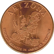Token - Arizona Mining Association – obverse
