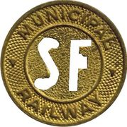 1 Fare - Municipal Railway (San Francisco, California) – obverse