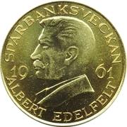 Token - Helsingfors Sparbank (Albert Edelfelt) – obverse