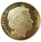 Token - Titanic (gold plated) – obverse