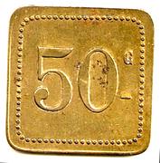 Grande Taverne Belfort  50 Centimes – reverse