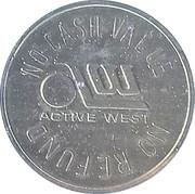 Token - Active West – obverse