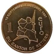 1 Euro du Canton de Retiers 35 – obverse