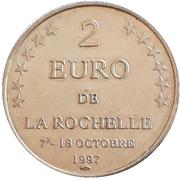 2 Euro (La Rochelle) – obverse