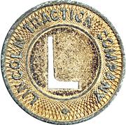 1 Fare - Lincoln Traction Company – obverse
