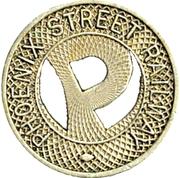 1 Fare - Phoenix Street Railway – obverse