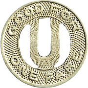 1 Fare - United Ry. & Elec. Co.  (Baltimore) – reverse