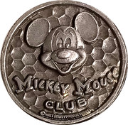 Token - Mickey Mouse Club – obverse